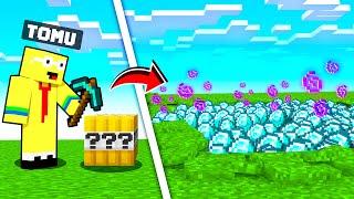 VAD FINNS I ETT LUCKY TNT BLOCK? *Minecraft TNT DESTRUCTION*
