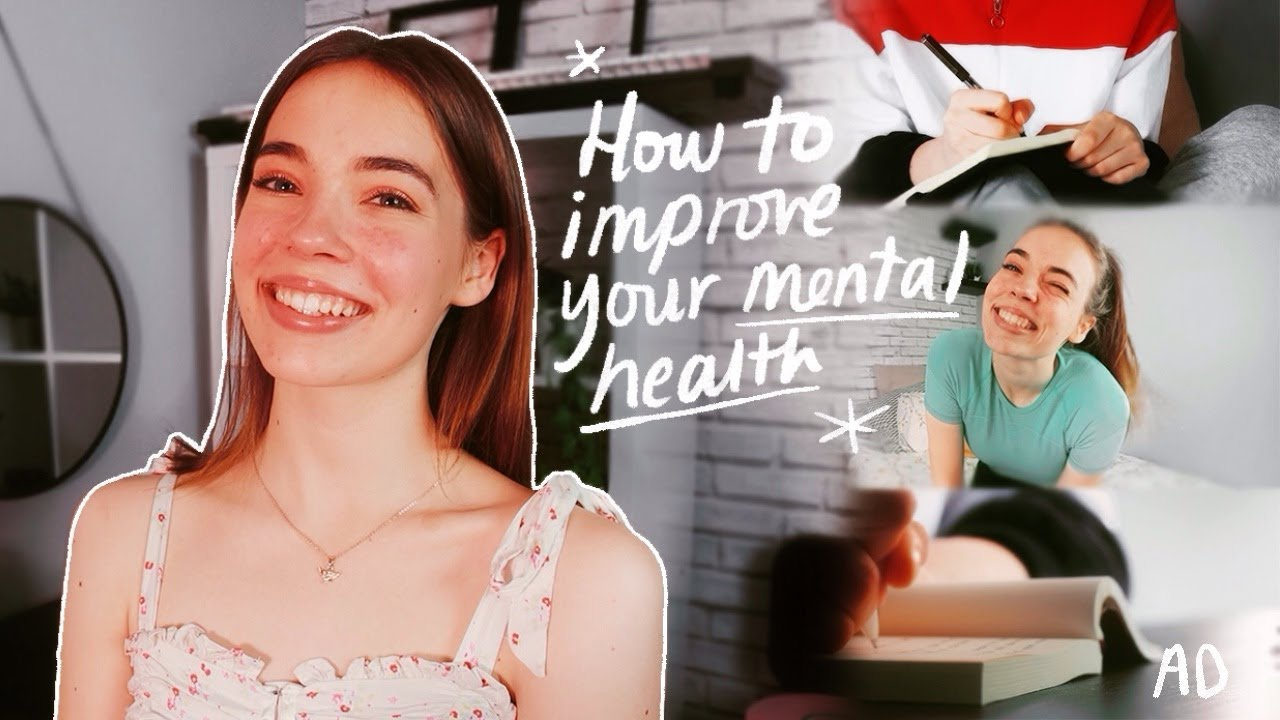 How To Improve Your Mental Health🌱✨ (getting out of a rut, habits +resources)