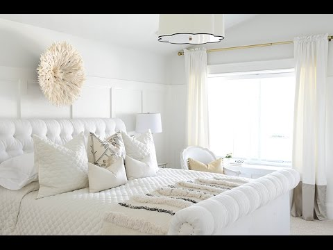 White bedroom ideas youtube - Dormitorios blancos ...