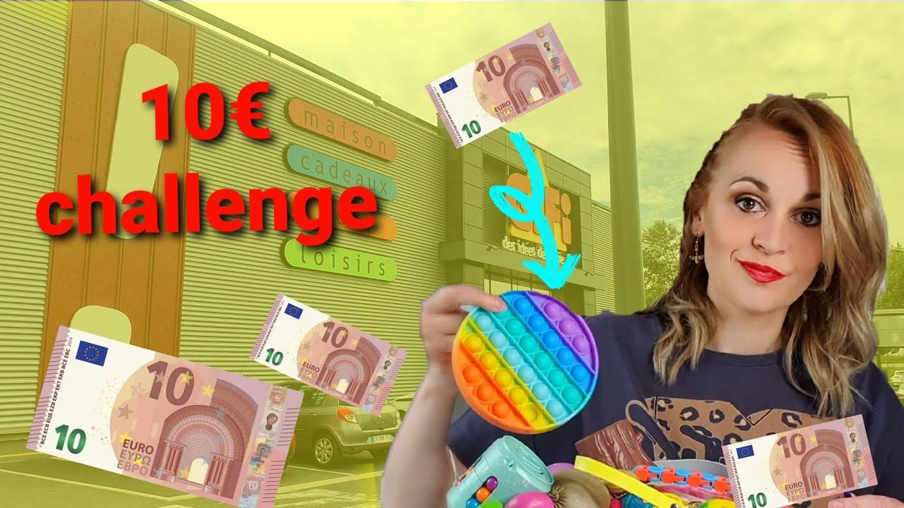 un max de pop it pour 10€ CHALLENGE