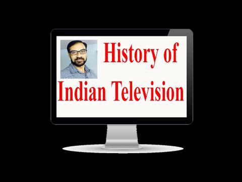 भारतीय टेलीविजन का इतिहास/History of Indian Television