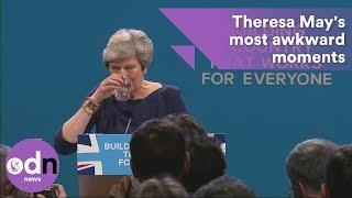 Theresa May's top 5 most awkward moments