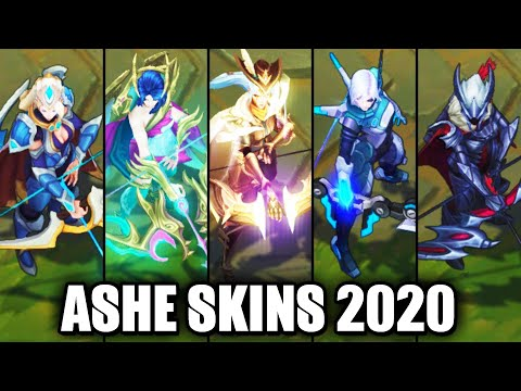 All Ashe Skins Spotlight 2020 (League of Legends)