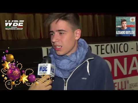 WBE TELEVISION GROUP Il giornaslista Sandro Ravagnani presenta Alessandro Monteleone