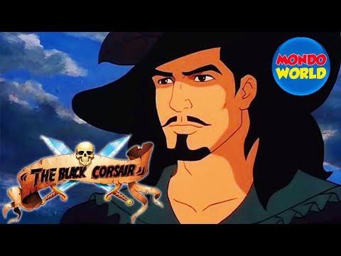 BLACK CORSAIR Full Movie (remastered) | Pirate Movie | Cartoon For Kids | Treasure Hunt