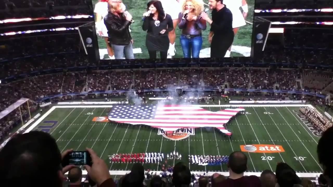 Louisiana star Lauren Daigle sang National Anthem at CFB title game