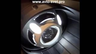 Установка биксеноновых линз Dodge Caliber