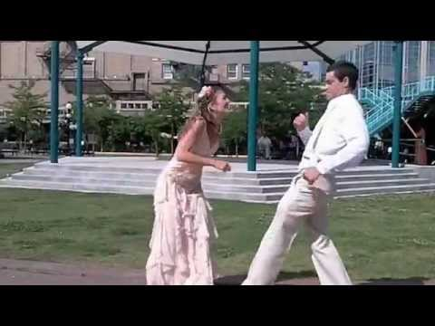 Best Wedding Dance Ever Bride And Groom Down The Aisle In Montana