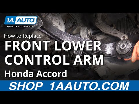 How to Replace Lower Control Arm 03-07 Honda Accord