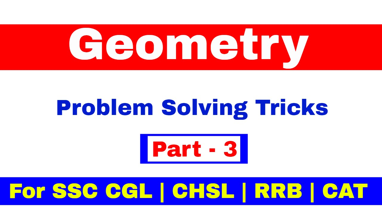 Geometry For SSC CGL | CHSL | CAT