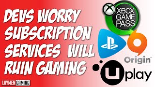 It's Not Just Gamers Who Worry About Subscription Services