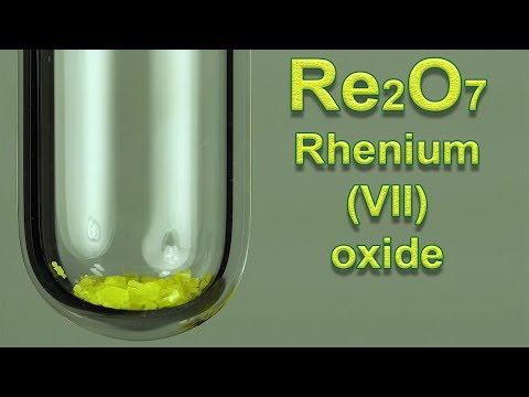 Re2O7: Rhenium Heptoxide. Chemical Reactions