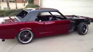 boosted 2jz twin turbo 65 mustang turbo cobra