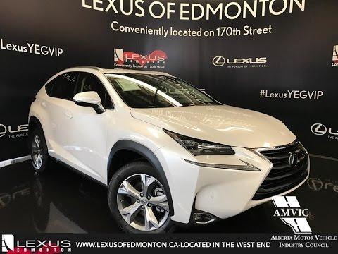 2017 White Lexus Nx 200t Awd Executive Walkaround Review West Edmonton Alberta