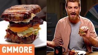 Bacon Bacon Bacon Lettuce & Tomato Sandwich Taste Test