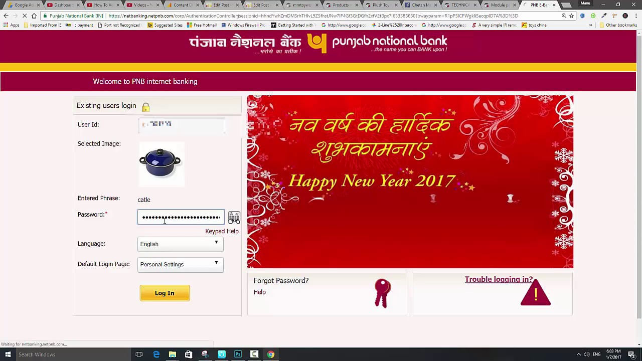 pnb net banking monthly charges