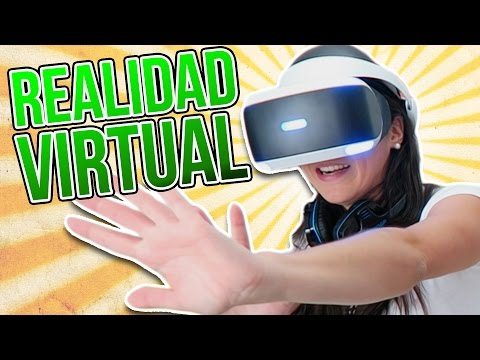 Thumbnail: Experimentando la REALIDAD VIRTUAL (PlayStation VR)
