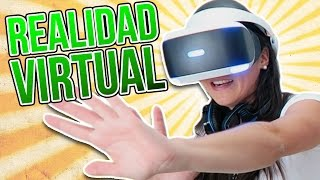 Experimentando la REALIDAD VIRTUAL (PlayStation VR)
