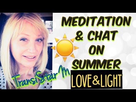 SUMMER SOLSTICE MEDITATION & CHAT | MTF Transition Transgender Yogini ⬇️ See Below