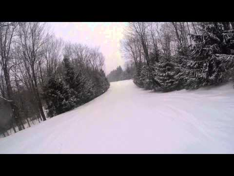 Elk Mountain Skiing - Mahican, Schuykill March 1st 2015