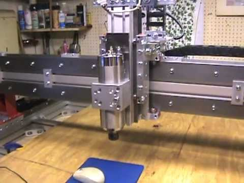Building Cnc Router Parts Crp4848 17 Mpg Youtube