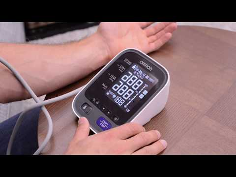 using-the-omron-blood-pressure-monitor