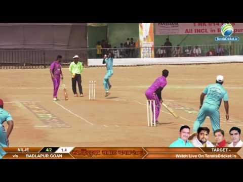 BADLAPUR G. VS NILJE MATCH hindu hruday samrat chashak 2017 | Badlapur ,joweli