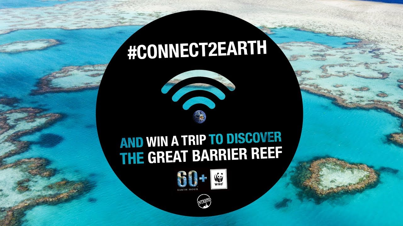 #Connect2Earth and WIN a Trip to the Great Barrier Reef | Earth Hour - YouTube