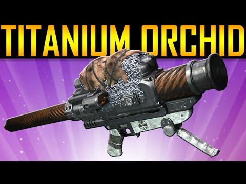 Destiny - TITANIUM ORCHID GAMEPLAY!