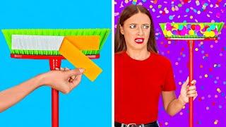 TRUCOS SUPERFLOJOS || ¿Tienes flojera? ¡Tenemos trucos geniales para el hogar y limpieza por 123 GO!