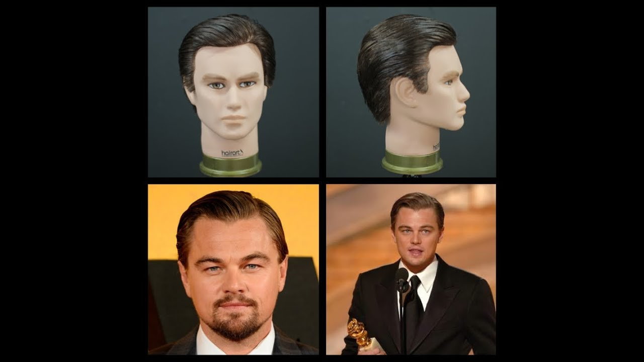 Leonardo Dicaprio Wolf Of Wall Street Inspired Haircut Tutorial