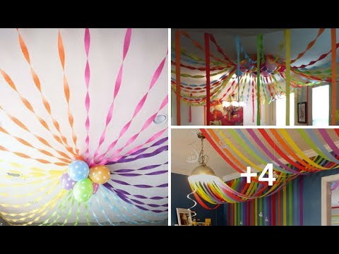 7 ideas para decorar el techo con papel crepe que podr as - Ideas para decorar fiestas ...