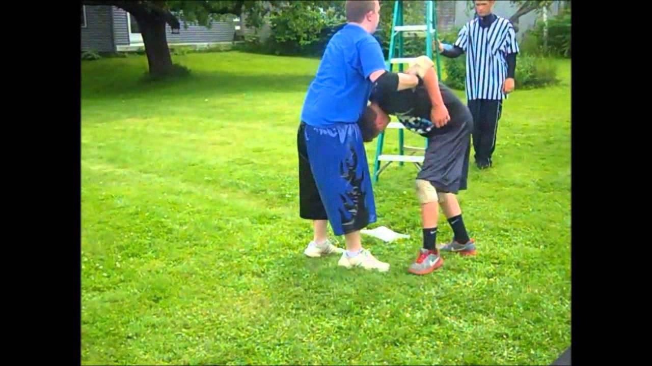 VCW Backyard Wrestling - RJ Anderson vs. Ryan Frost - YouTube