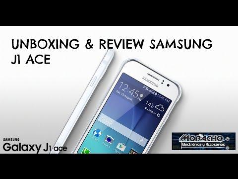 Unboxing SAMSUNG GALAXY J1 ACE análisis y características