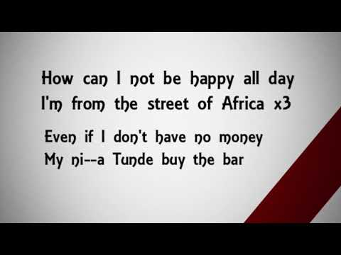 Burna Boy - Streets Of Africa lyrics