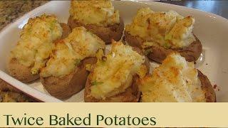 How To Make Vegan Twice Baked Potatoes