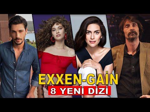EXXEN VE GAİN'DEN 8 YENİ DİZİ GELİYOR!