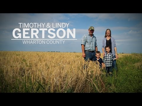 Timothy & Lindy Gertson  Outstanding Young Farmer & Rancher 2015