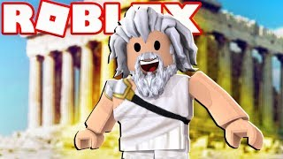 I SHOOT LIGHTNING AS ZEUS IN ROBLOX GOD SIMULATOR w/ FAVREMYSABRE