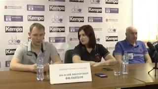 2018-03-24 Пресс-конференция Чеховские Медведи vs Спартак Москва
