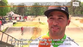 Wereldtop BMX traint in Zolder