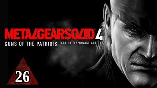 Metal Gear Solid 4 Walkthrough - Part 26 Boss Raging Raven Let's Play MGS4 Gameplay Commentary