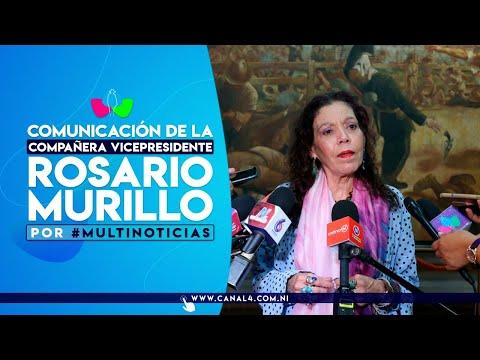 Comunicación Compañera Rosario Murillo, 16 de abril de 2021