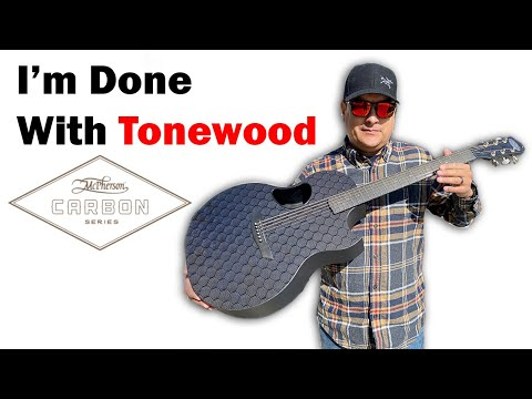 Carbon Fiber Guitar Review This Thing Sounds So Good - McPherson Sable