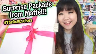 Surprise Barbie Package from Mattel!! New bodies and more diversity! #TheDollEvolves