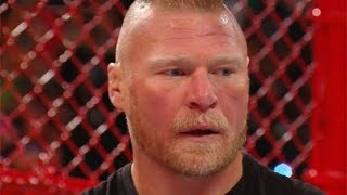Brock Lesnar Makes Surprise Appearance At WWE Hell In A Cell 2018