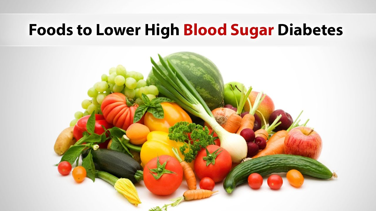Foods That Lower Your Blood Sugar Fast