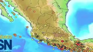Porque Tiembla tanto en Mexico