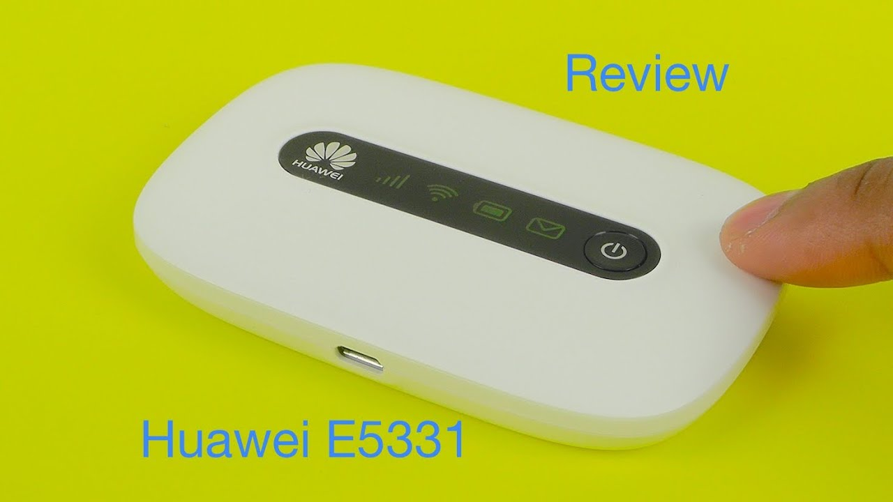 Huawei E5331 21mbps Mobile Wifi Hotspot Review Youtube