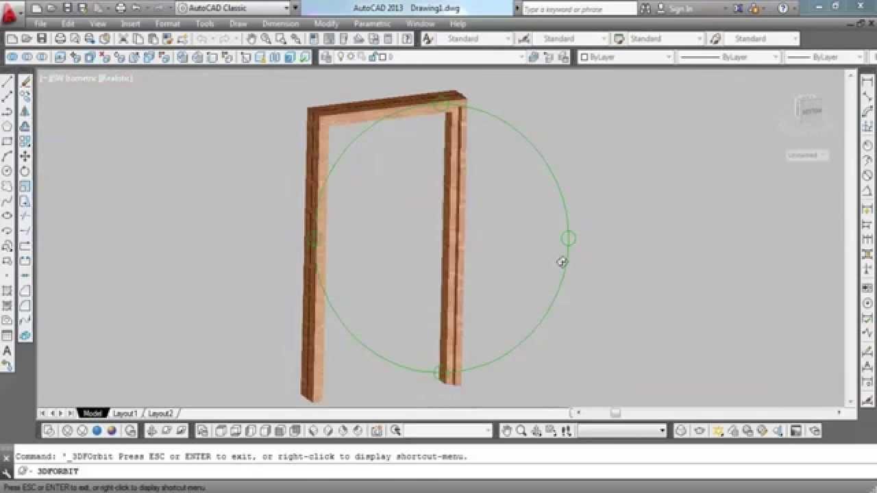 How To Make Door Frame Youtube